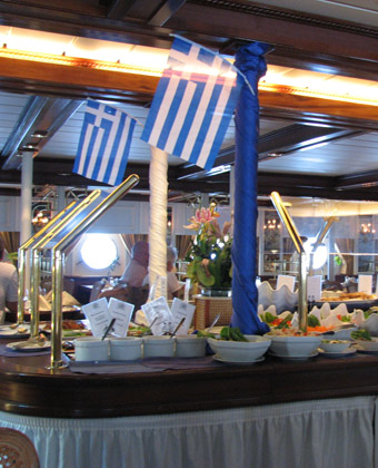 Lunch on Star Clipper
