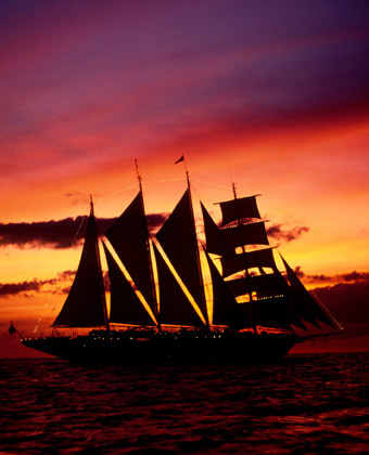 Star Clipper at Sunset
