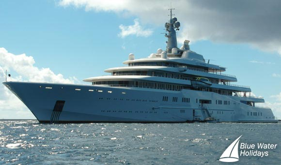 Eclipse - one of Roman Abramovich's yachts