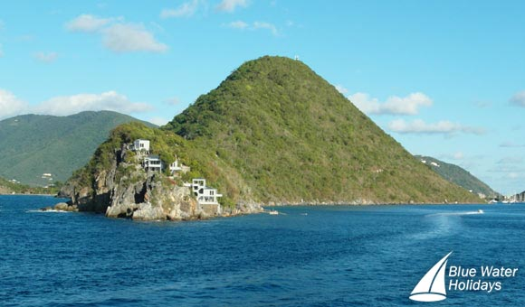 Tortola - houses with a sea view