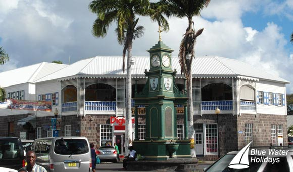 The centre of St Kitts