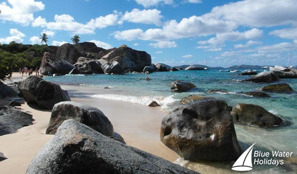 The famous Baths at Virgin Gorda