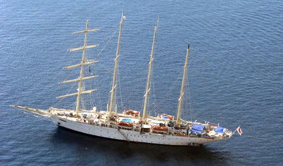 Star Clipper Sailing Cruises In The Mediterranean And Caribbean - Star clipper cruises