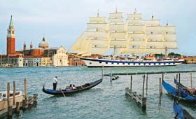Royal Clipper in Venice